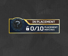 Arena Ranked Placement Matches