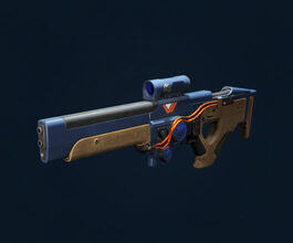 Oxygen SR3 Legendary Scout Rifle